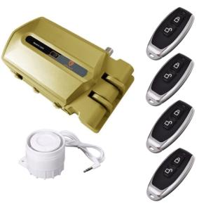 Cerradura invisible golden shield con alamra